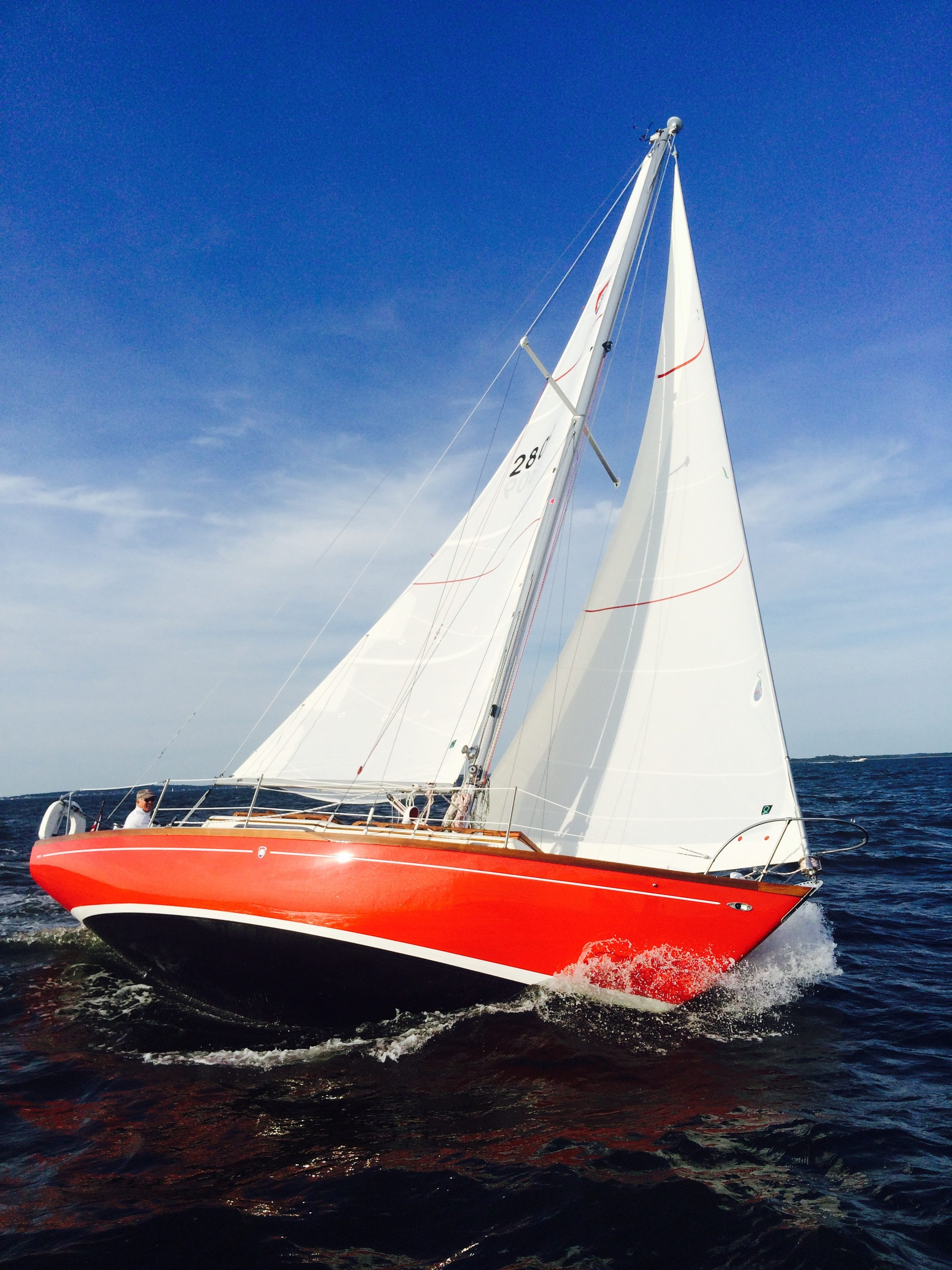 Colombia 32'- Fully restored and being enjoyed by the owner